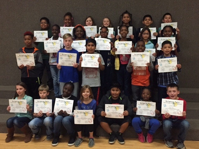 Fourth grade Science Fair winners named