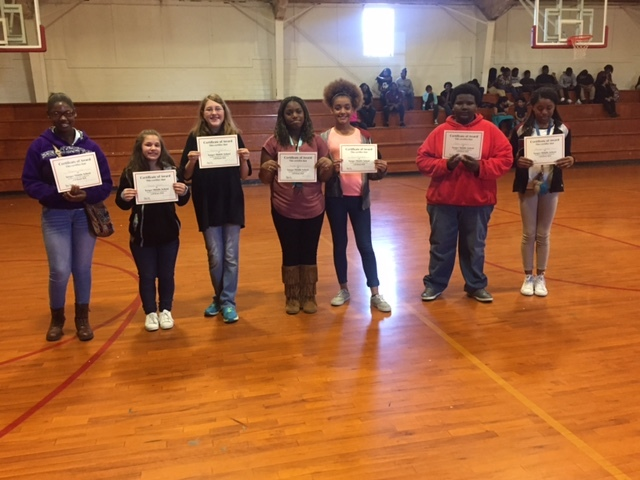 YMS Eighth Grade Honors Given