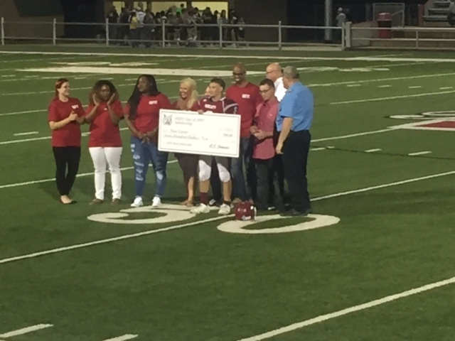 Carter Presented Scholarship