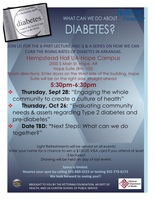 Diabetes series resumes