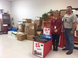 Bobcats Helping Bobcats donation given