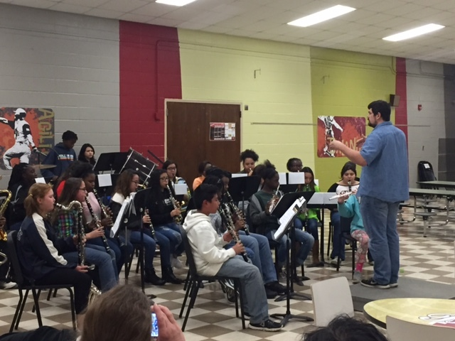 YMS band in parent program
