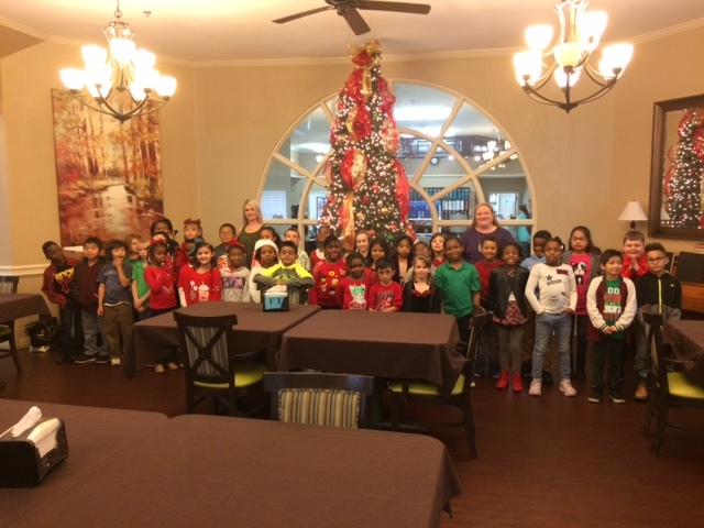 CPS Caroling at Nursing Homes