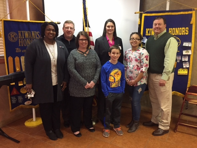 CPS students visit Kiwanis Club