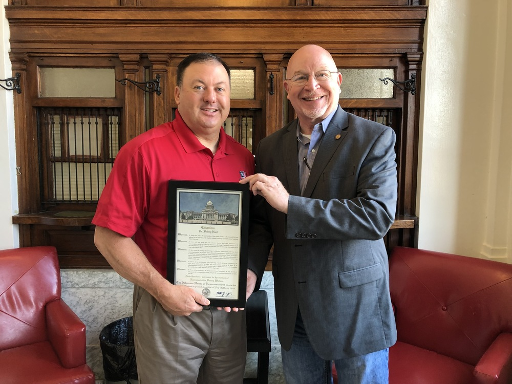 House recognizes Hart with citation