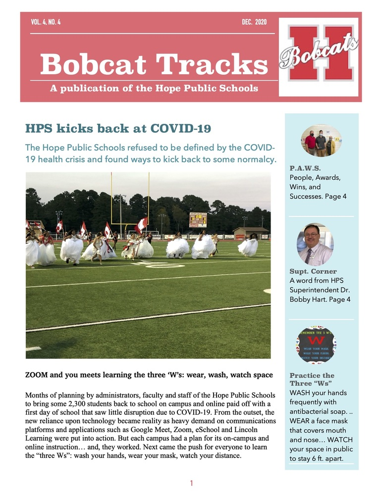 HPS kicks back at COVID-19