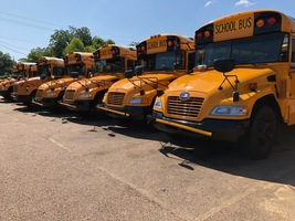 Start of school brings big, yellow buses