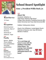 School Board Spotlight, Willie Buck Jr.