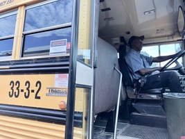 Bus drivers on front line of safety