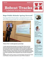 Hope Public Schools 'spring forward'