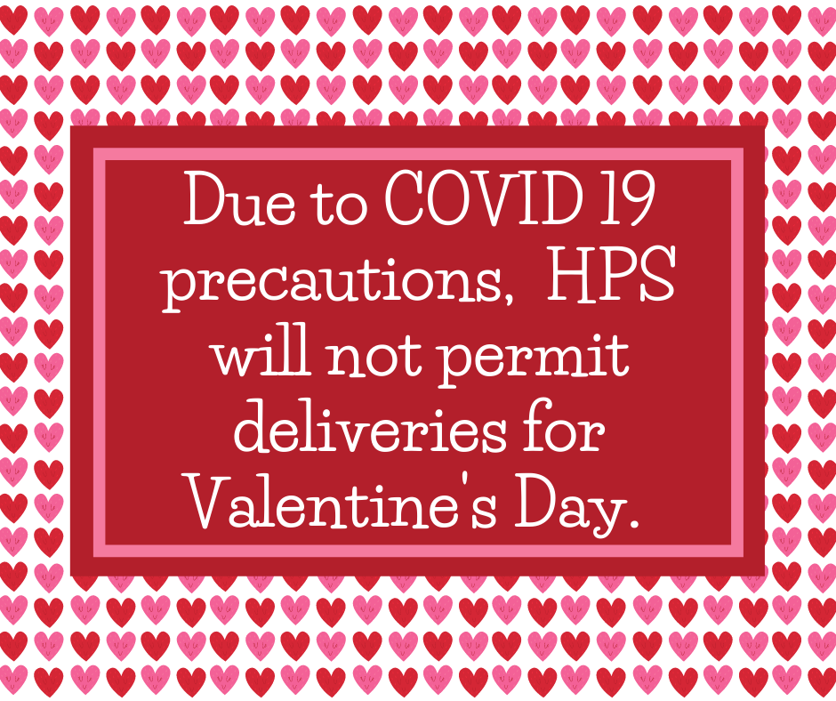 Valentine's Day Delivery Update
