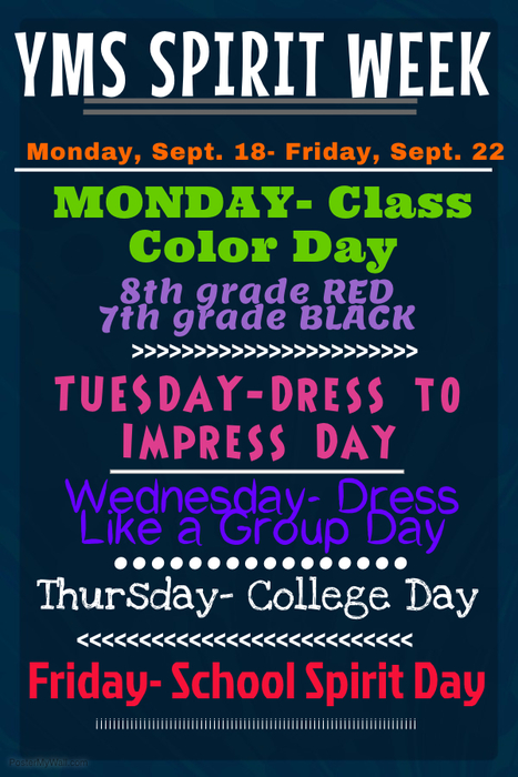YMS Spirit Week